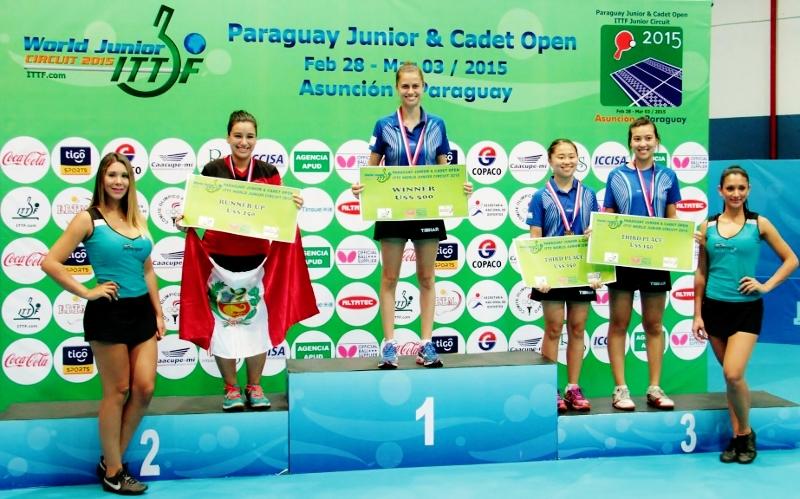 Janina Nieto Tenis de Mesa
