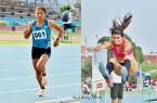 Atletismo Paola Mautino Karina Villazana